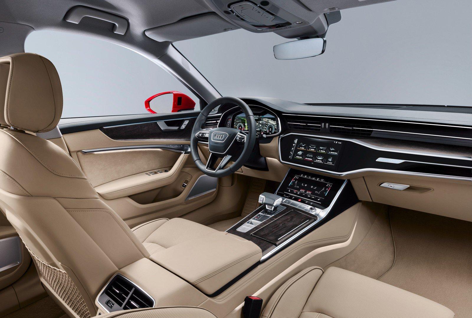 L'intérieur de l'Audi A6