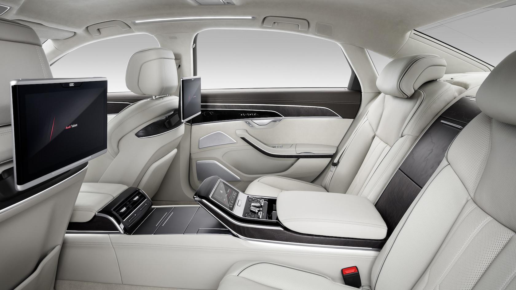 Audi A8 2018: partie intérieur