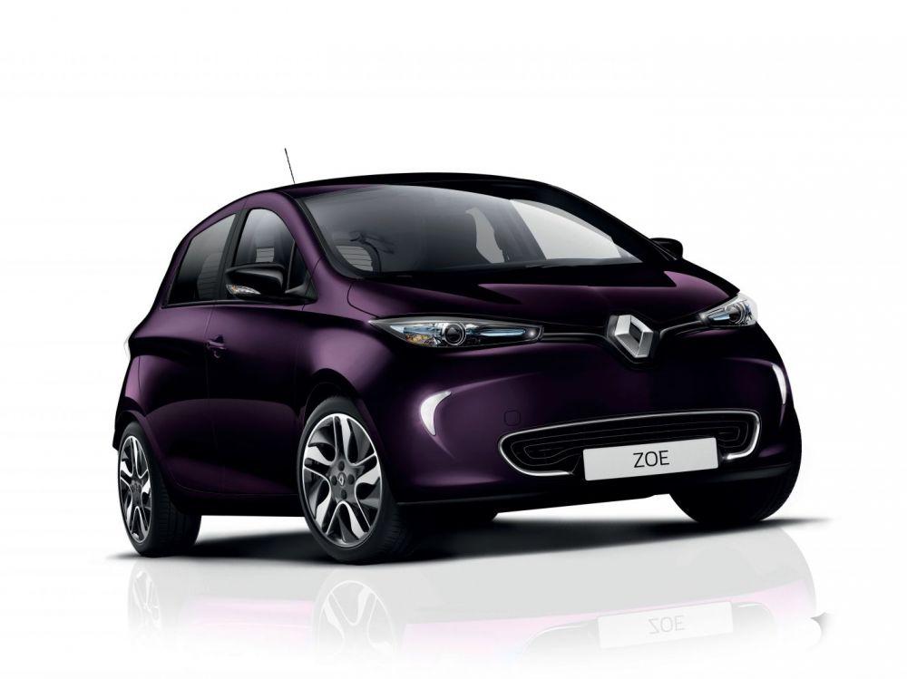 Renault- Zoé- électrique