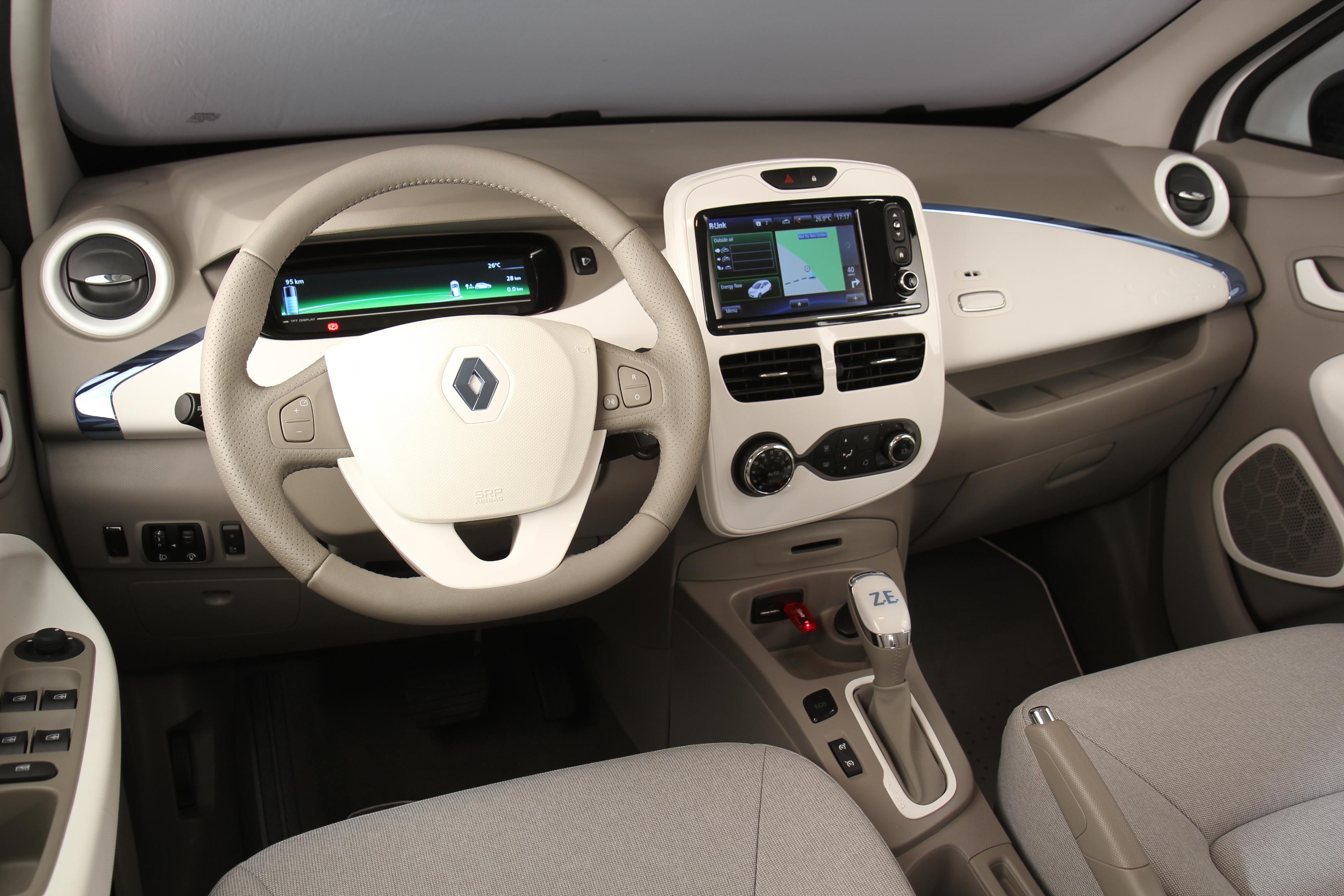 Renault- Zoé -Electrique